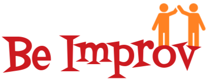 Be Improv Logo